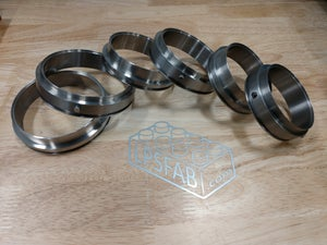 "Image of AlphaLoc Titanium weld ferrules  (3.0"", 3.5"", and 4.0"" available now!) starting at"