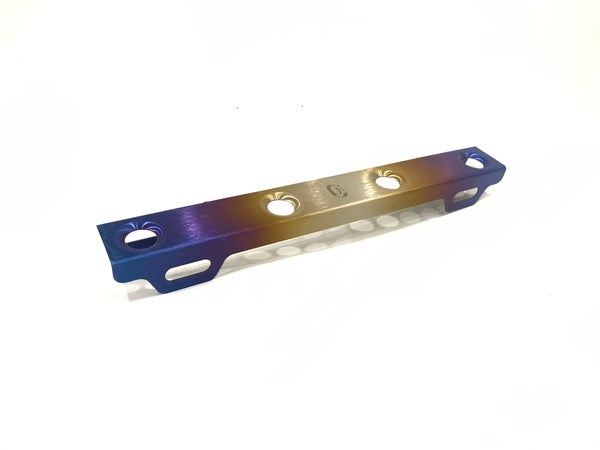 Image of Titanium license plate bracket holder