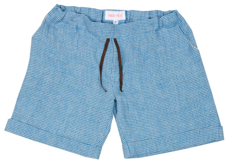 Image of short pant NEW YORK blue