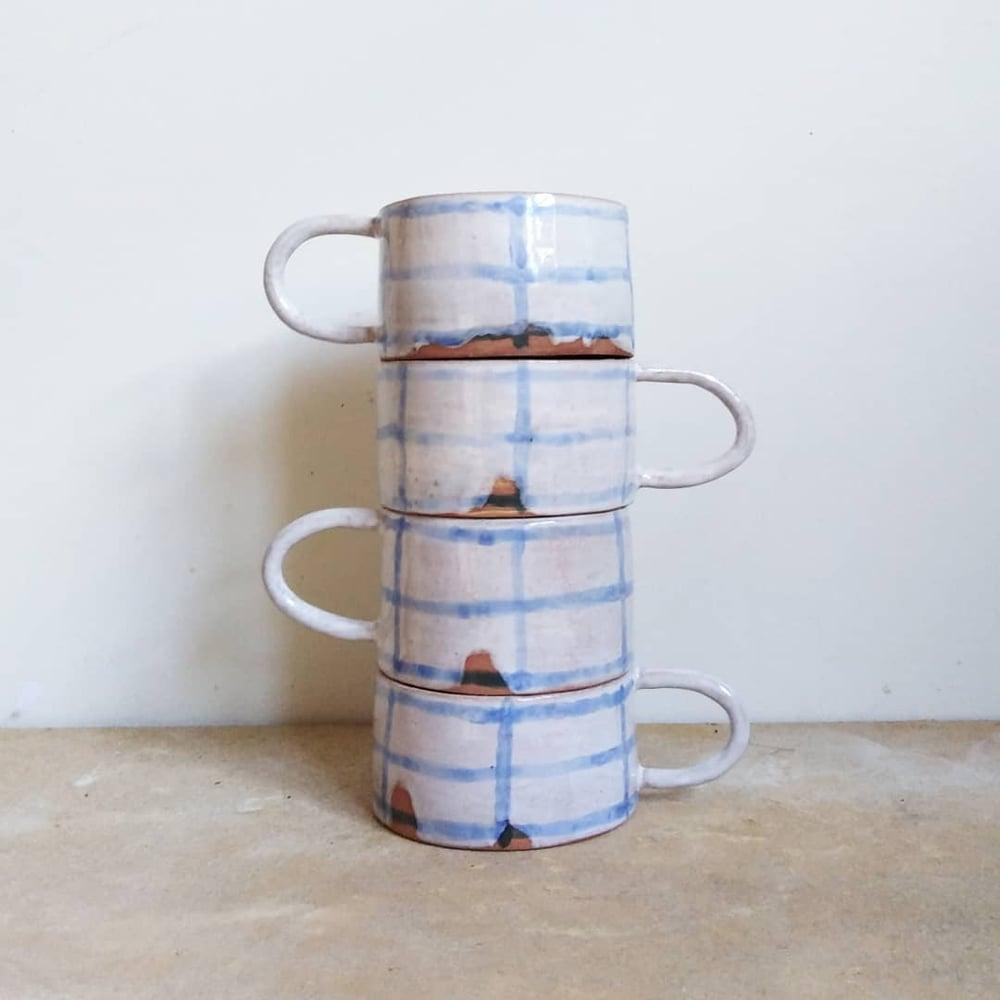 Image of grid mug