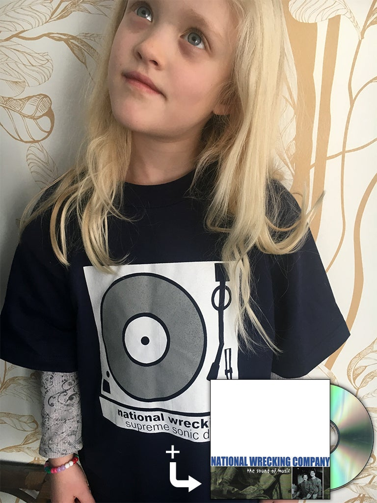 Image of Turntable T-Shirt/CD Combo (+ unreleased cassette demo)