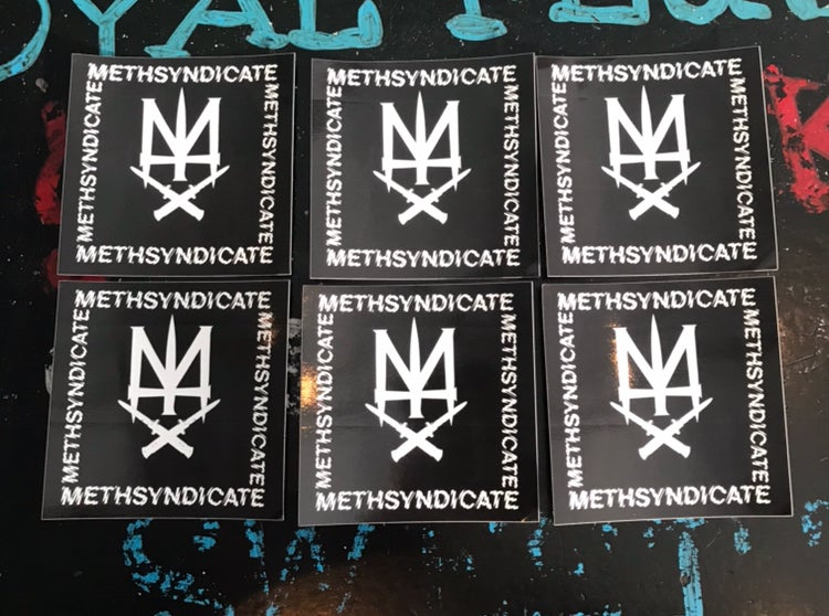 Image of 5 STREET TEAM STICKERS