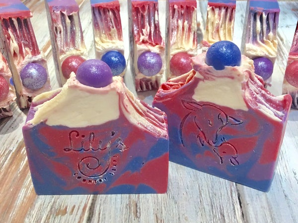 Image of Berry Bliss Goat Milk Soap