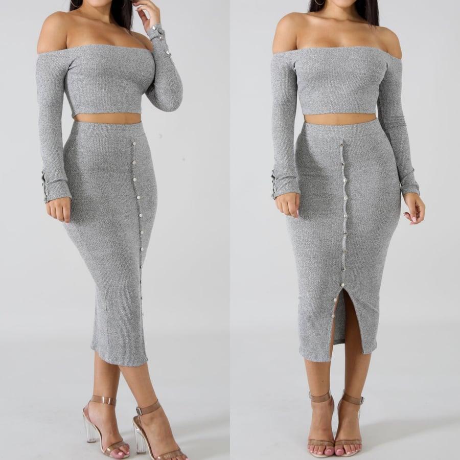 Image of Erin skirt set