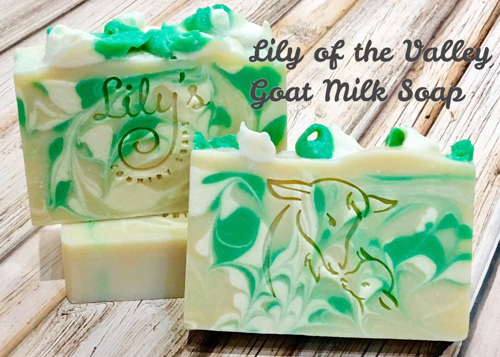 Image of Lily of the Valley Goat Milk Soap