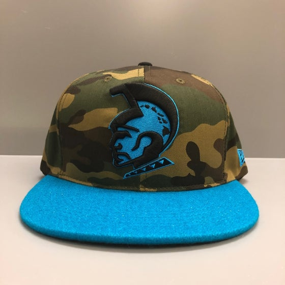 Image of KAM KOA TURQ Melton Snap Back