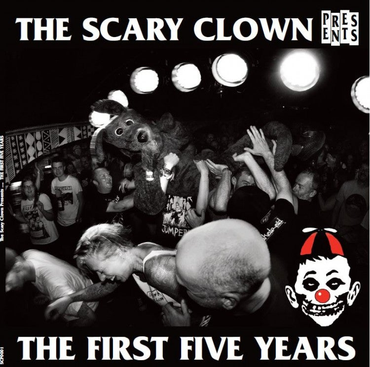 Image of VARIOUS ARTISTS - THE SCARY CLOWN PRESENTS THE FIRST FIVE YEARS DOUBLE LP