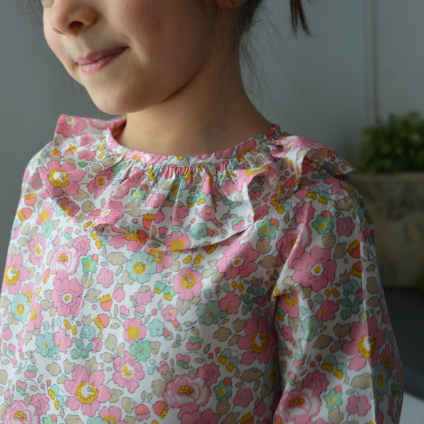 Image of blouse liberty betsy cupcake