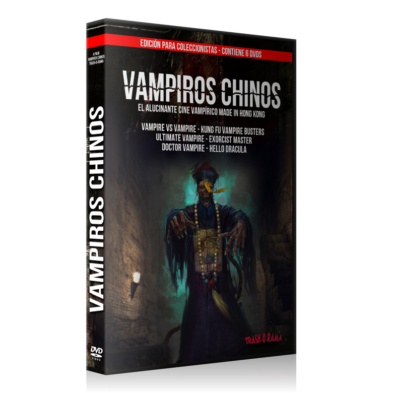 Image of Pack 6 DVD Vampiros Chinos