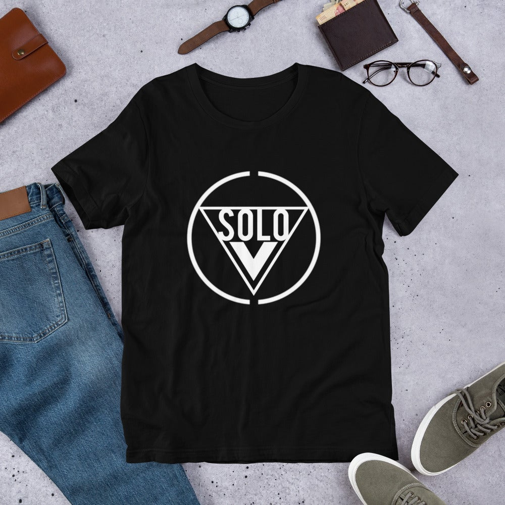 Image of A Solo Vision (Black) T Shirt