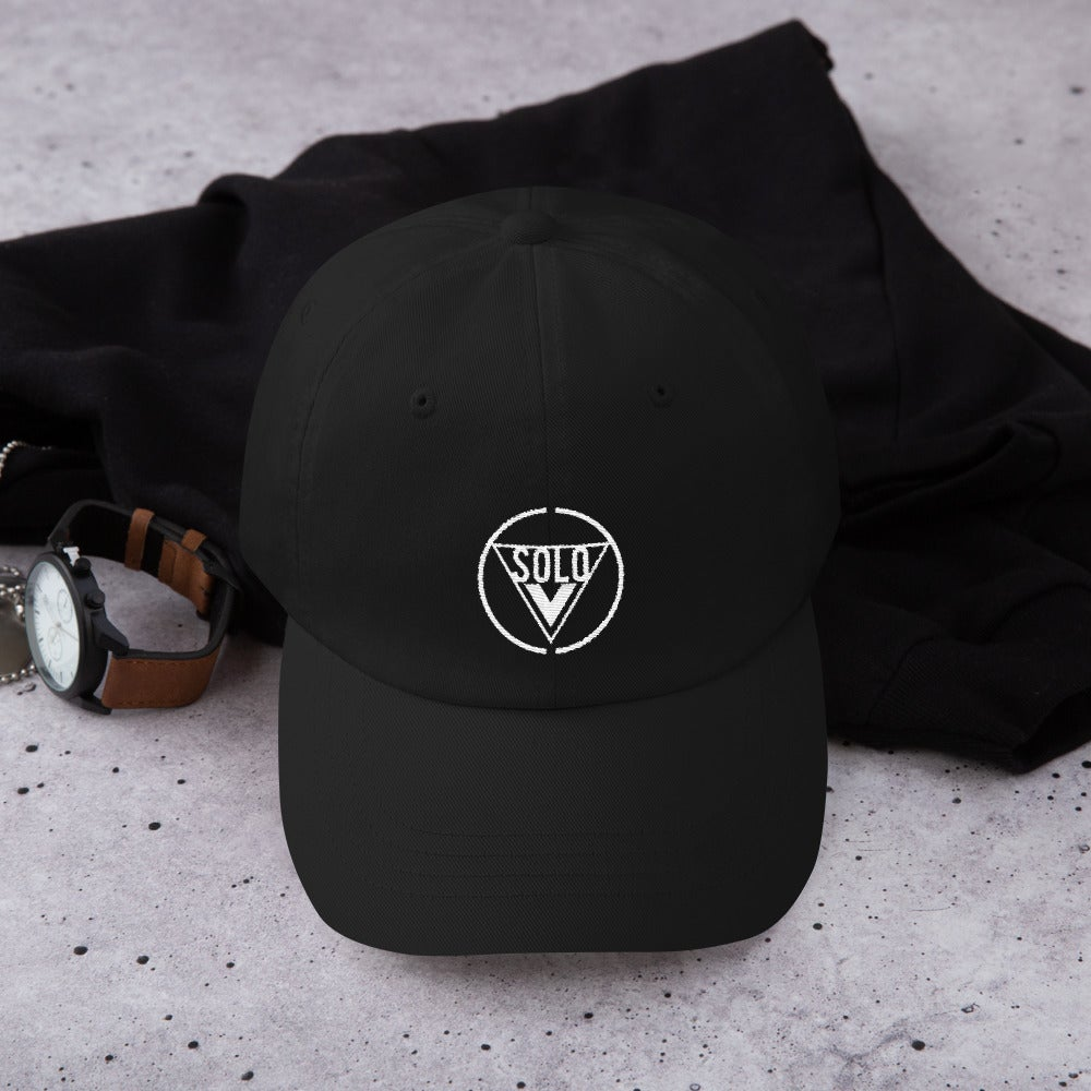 Image of A Solo Vision (Black) Hat