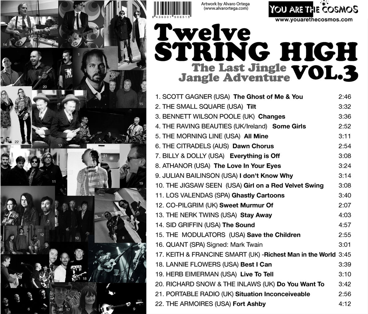 Image of TWELVE STRING HIGH on CD