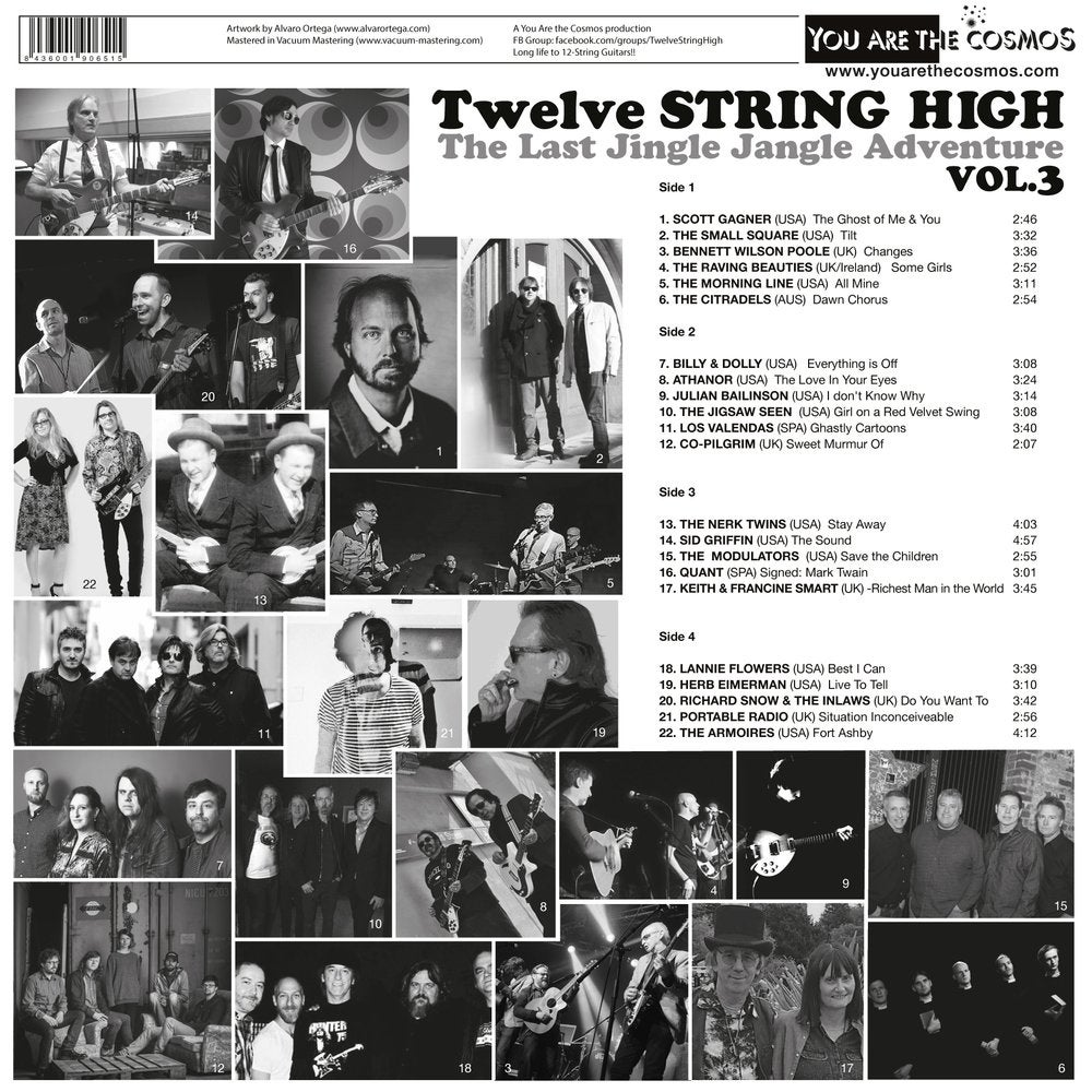 Image of TWELVE STRING HIGH 2LP+CD