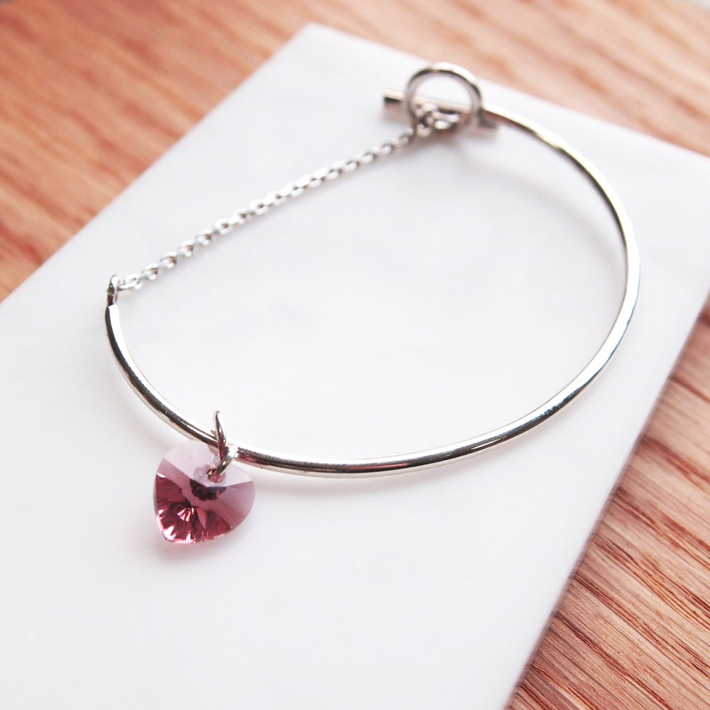Image of Heart Bangle