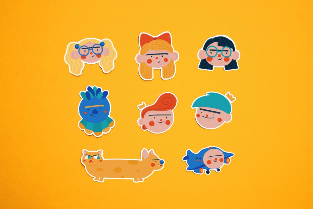 Image of 90s Kids Stickers