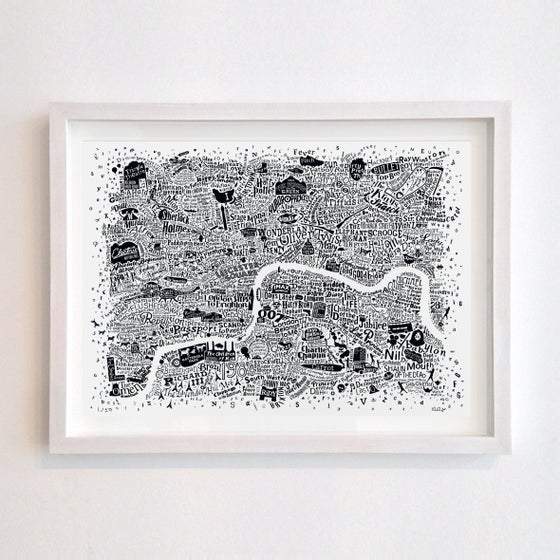 Image of London Film Map (A2, 2019)