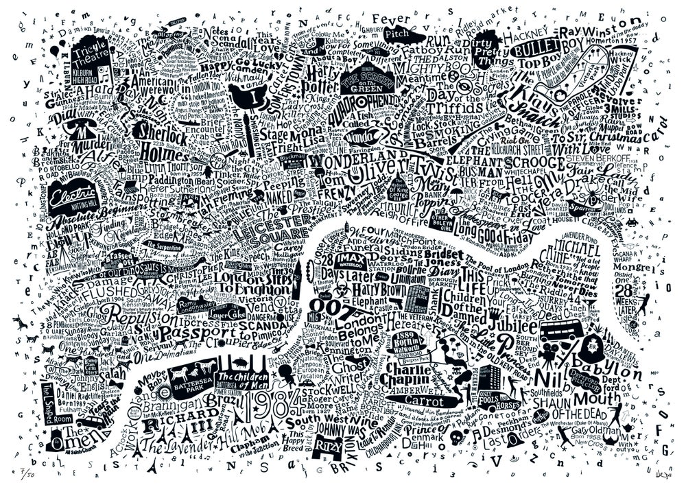 London Film Map (A2)