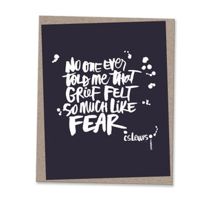 Image of SO MUCH LIKE FEAR #kbscript print
