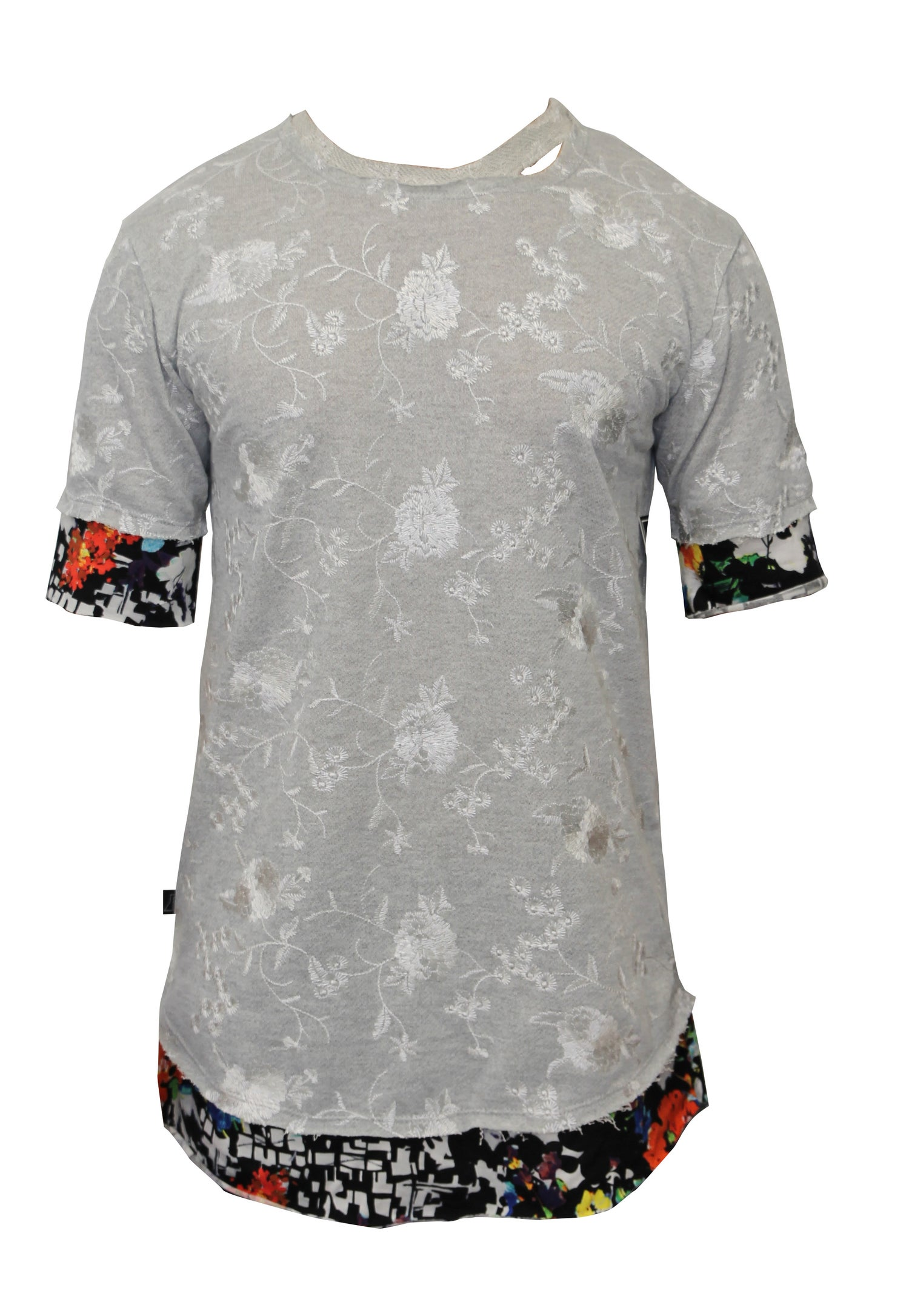 Image of Embroidered French Terry Shirt