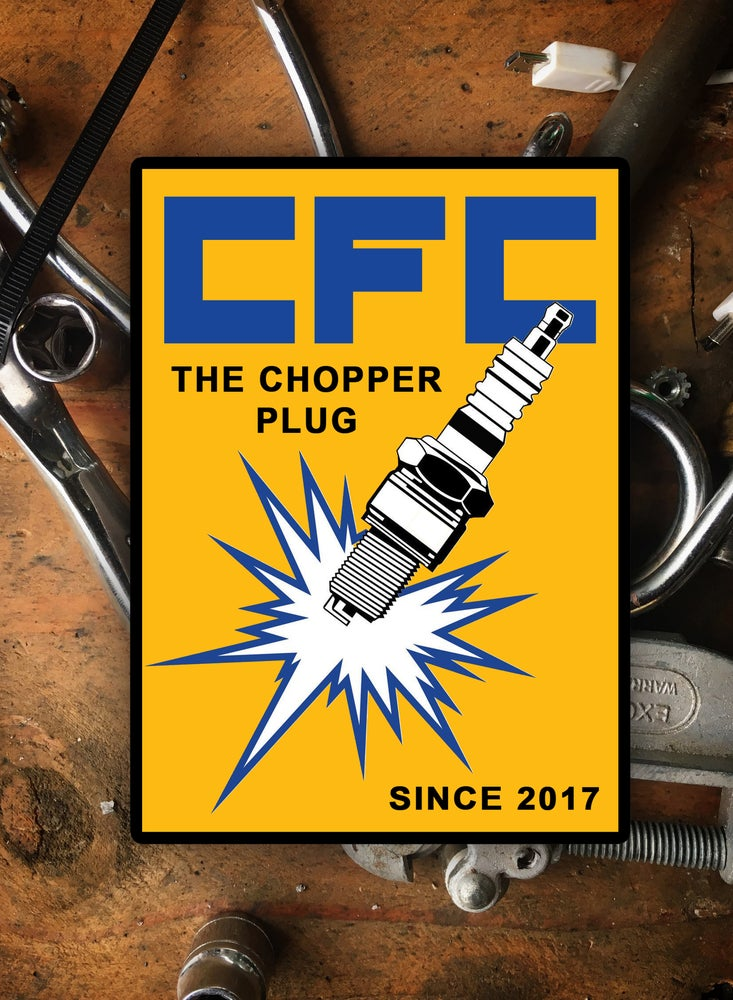 Image of Chopper Plug [Sticker]