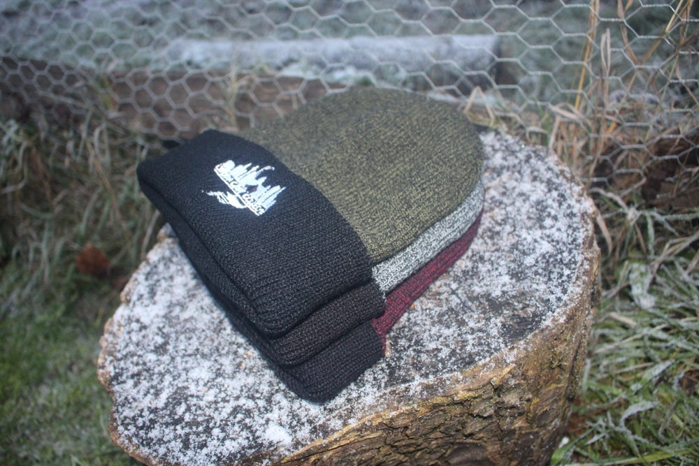 Image of Urban Carp Collective Original embroidered Beanie Hat