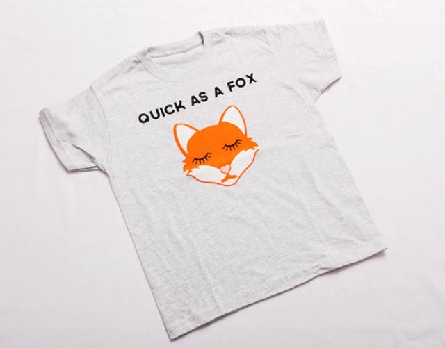 Image of Quick as a Fox Tee/Jumper