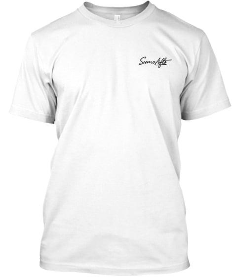 Image of Signature Sleeve lifestyle tee - White