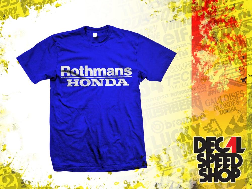 Image of Rothmans Honda Team Tshirt