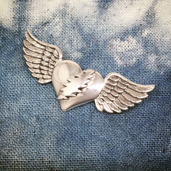 Image of NFA Sterling Silver Pin