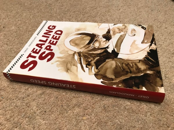 Image of STEALING SPEED graphic novel (including UK post)
