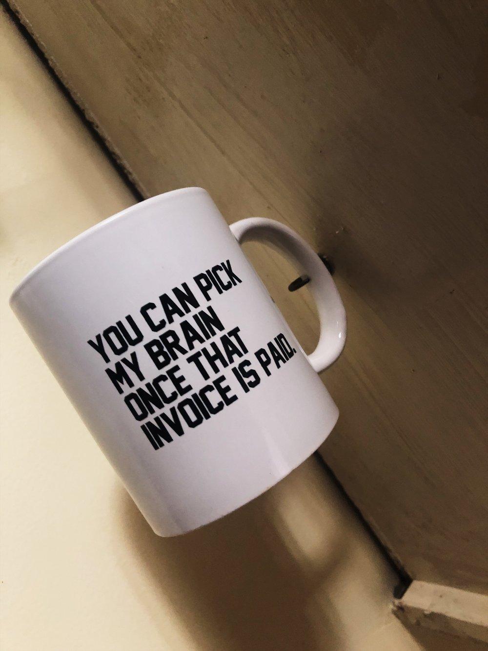 """""""Book Me"""" Mug"""