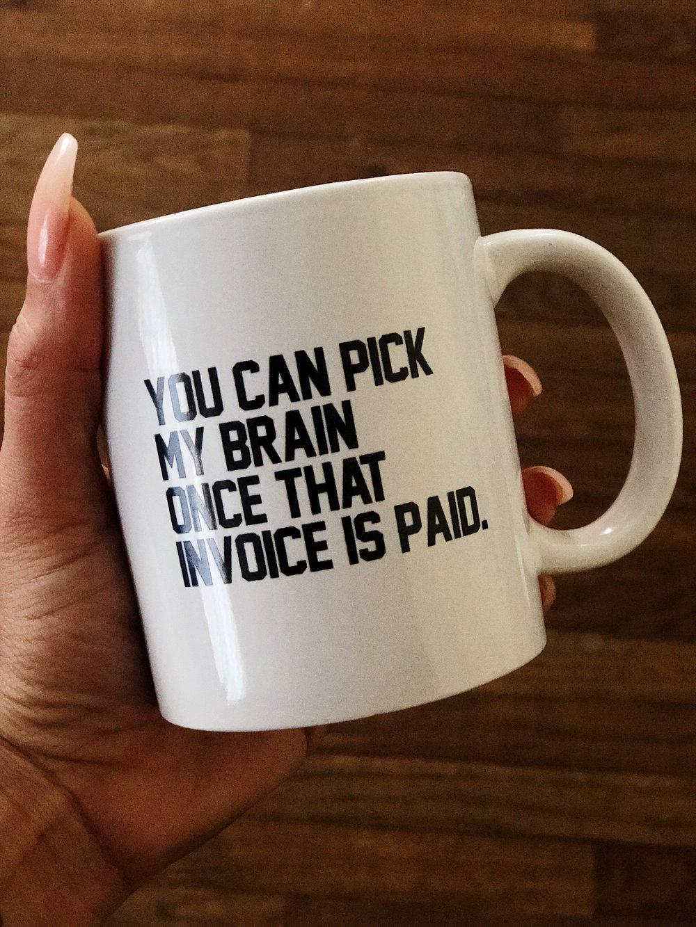 """Image of """"Book Me"""" Mug"""