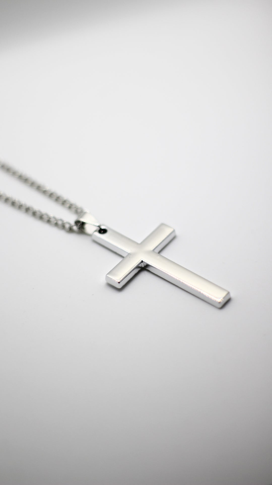 Image of Silver Cross Chain