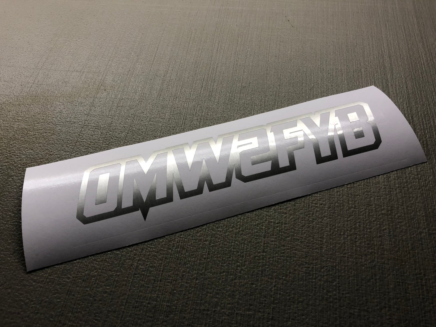 """Image of 10"""" OMW2FYB DECAL"""