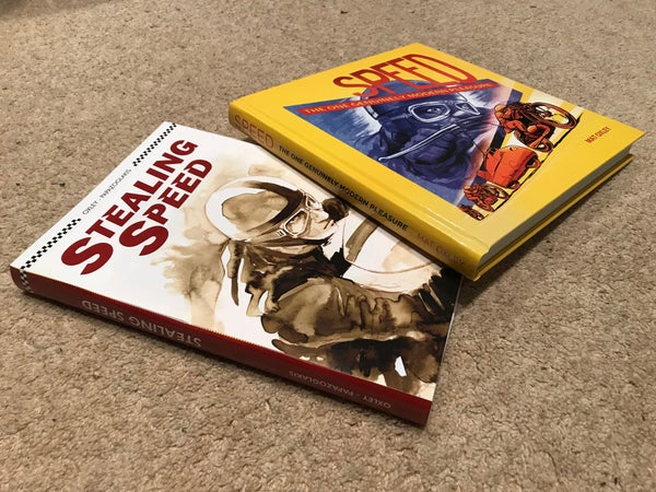 Image of SAVE £11! STEALING SPEED graphic novel & SPEED: THE ONE GENUINELY MODERN PLEASURE (inc UK post)