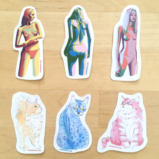 Image of Colorful Sticker Set