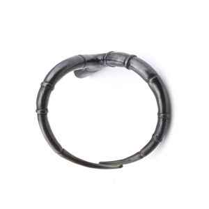 Image of Black Branch Tendril Bangle Bracelet 04