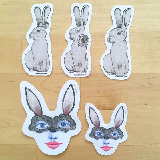 Image of Bunny Sticker Set