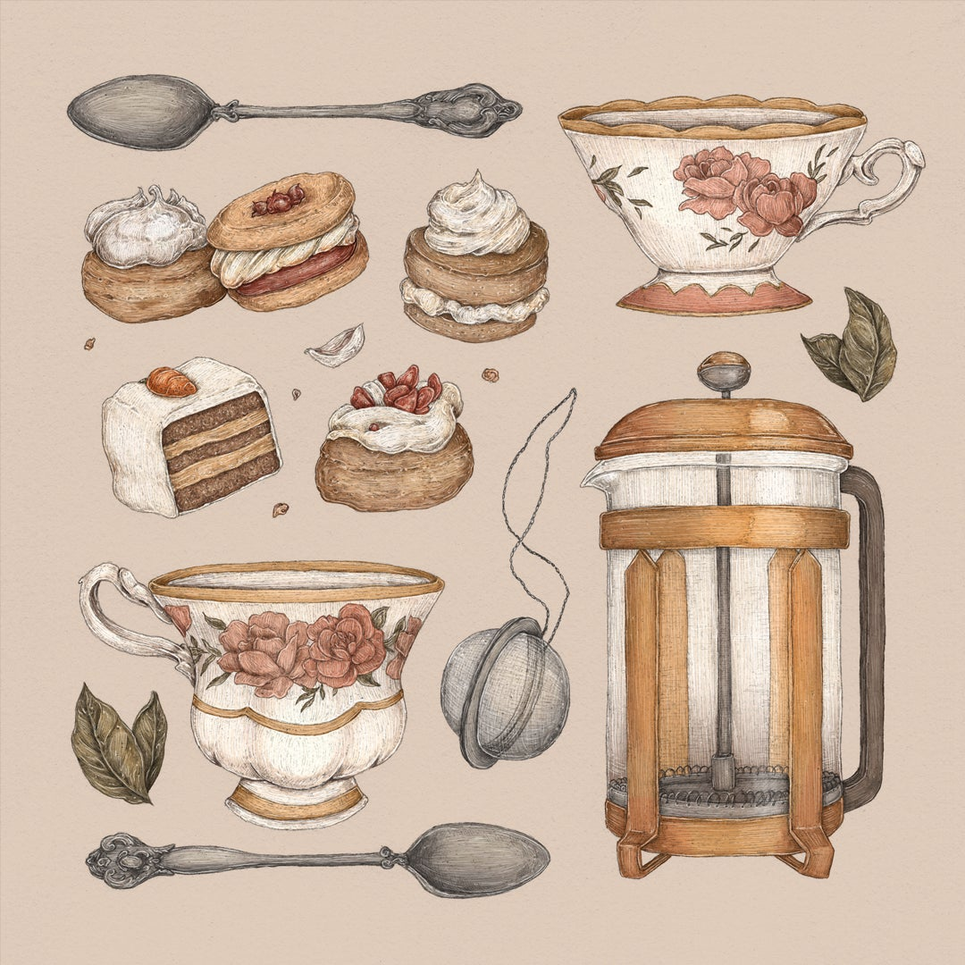 Image of Tea Time Collection Print