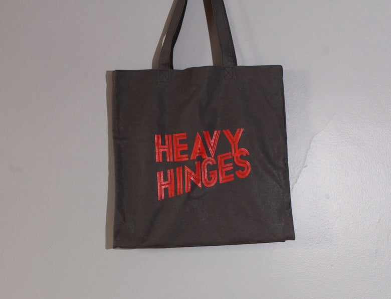 Image of Heavy Hinges Tote Bags