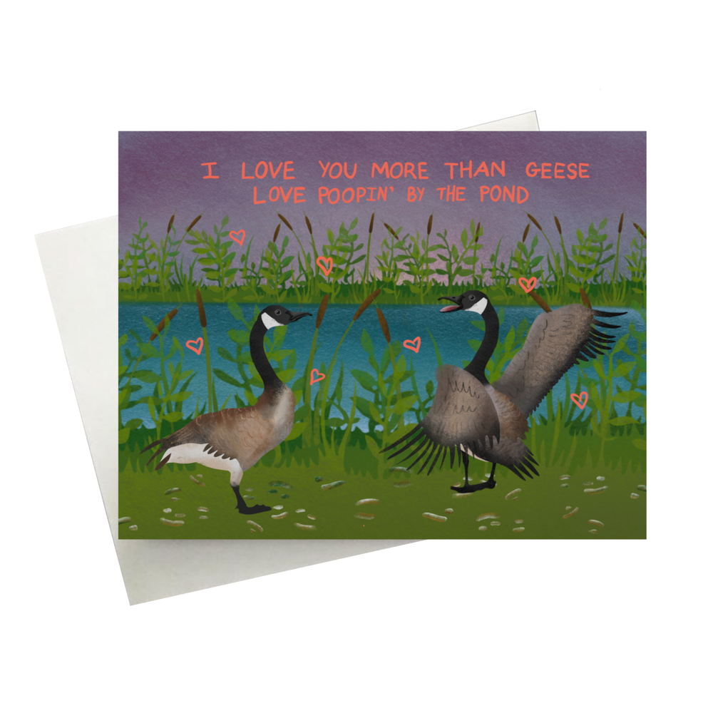 Image of Goose Card
