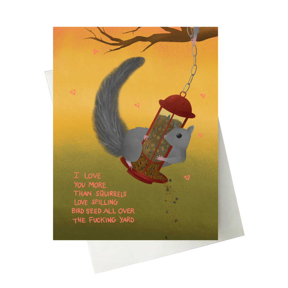 Image of Squirrel Card