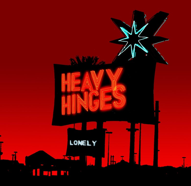 "Image of Heavy Hinges ""Lonely"" CD (EP)"