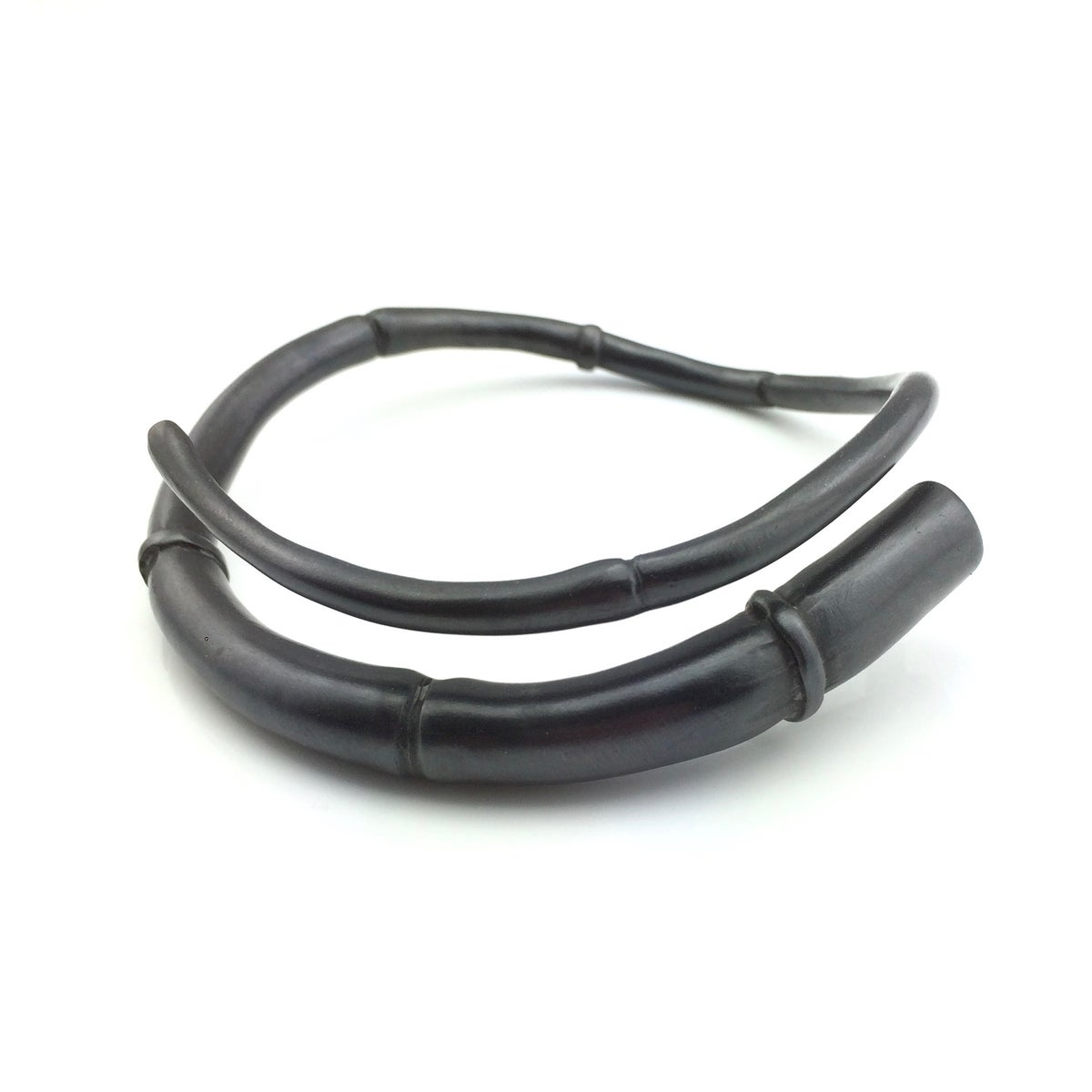 Image of Black Tendril Bangle Bracelet 05