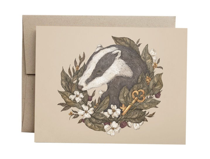 Image of Badger Card
