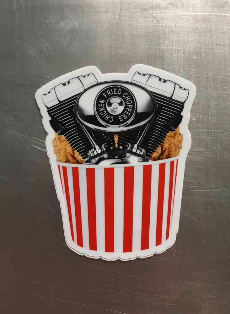 Image of Big Twin Bucket [Sticker]