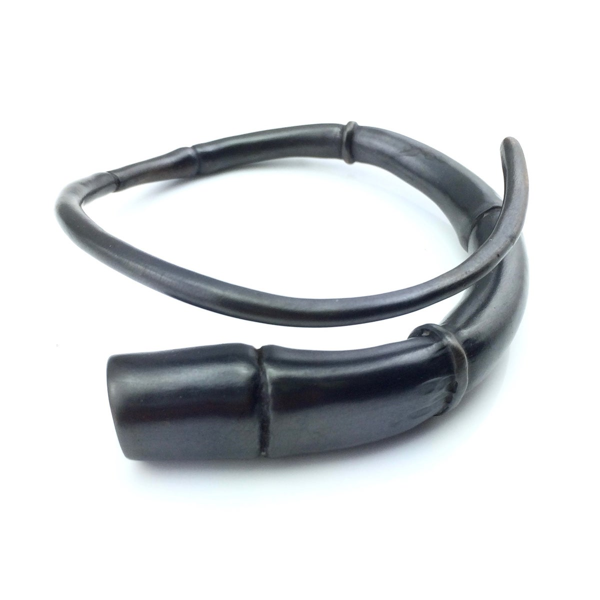 Image of Black Tendril Bangle Bracelet 07