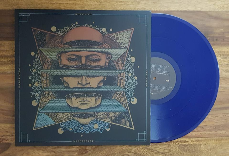 Image of 4way Split (Vinyl) Blue
