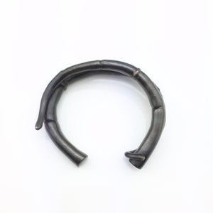 Image of Black Double Tendril Cuff Bracelet 02