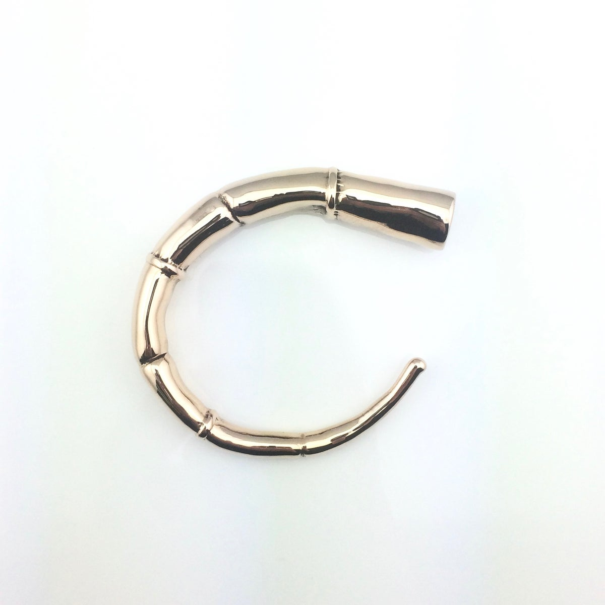 Image of BRONZE OPEN SIDE CUFF BRACELET
